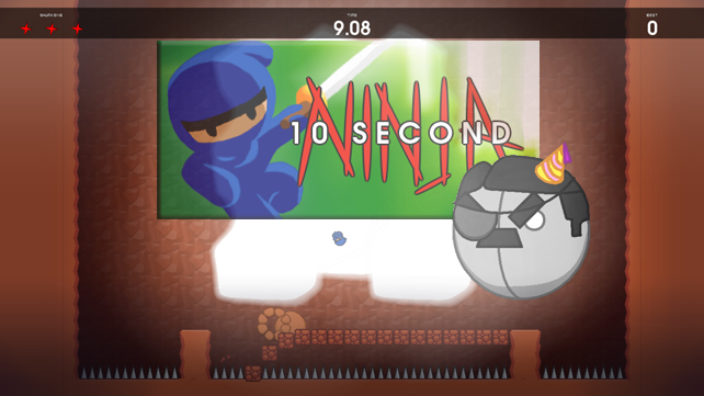 10 Second Ninja Feature