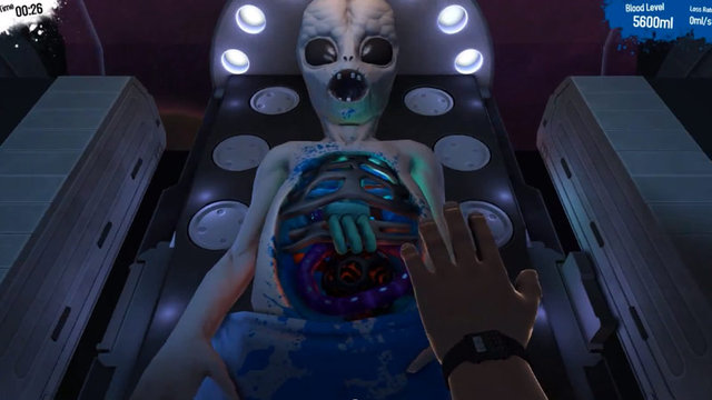 Surgeon Simulator Alien