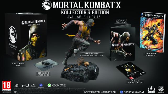 Mortal Kombat X Collectors