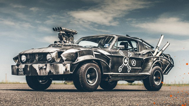 Win the Mad Max Mustang