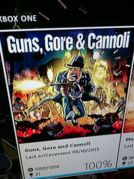 Stuart Cullen - Guns Gore & Cannoli