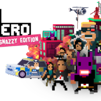 Not a Hero - Key Art - SuperSnazzy Logo