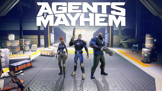 Agents of Mayhem Trailer & Screens