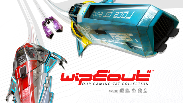 WipEout… Our Gaming Tat Collection
